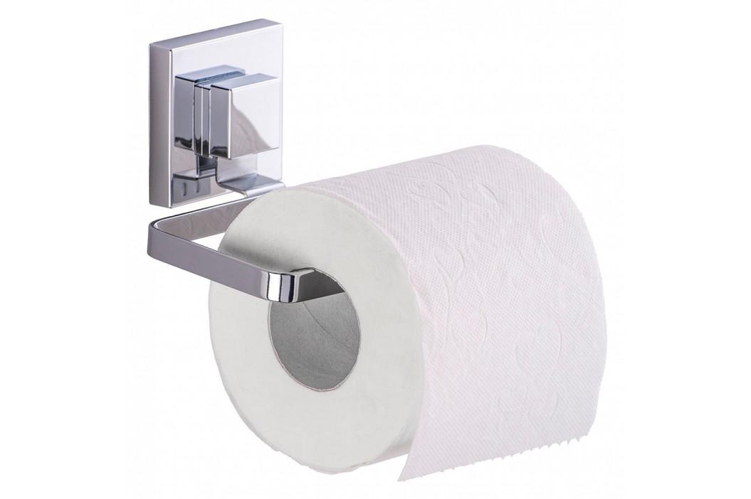 Držiak na toaletný papier bez nutnosti vŕtania Wenko Vacuum-Loc Quadrio, až 33g