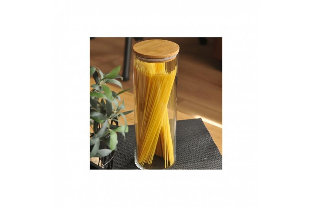 Dóza s bambusovým vrchnákom Bambum Alpha