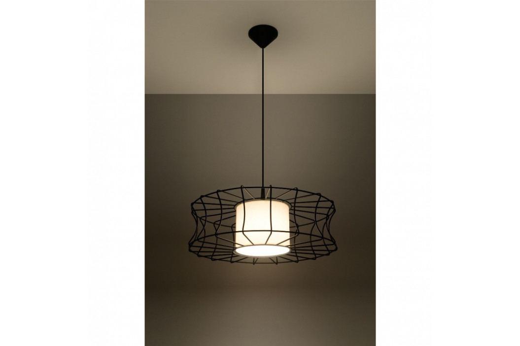 Čierne stropné svetlo Nice Lamps Parla