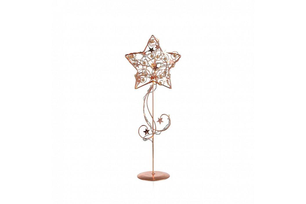Stojacia LED svietiaca dekorácia Markslöjd Hagaberg Copper