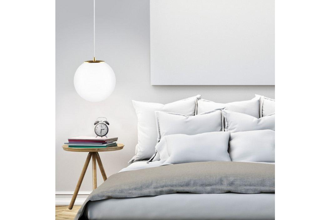 Biele stropné svietidlo Sotto Luce tsuki L Elementary 1S