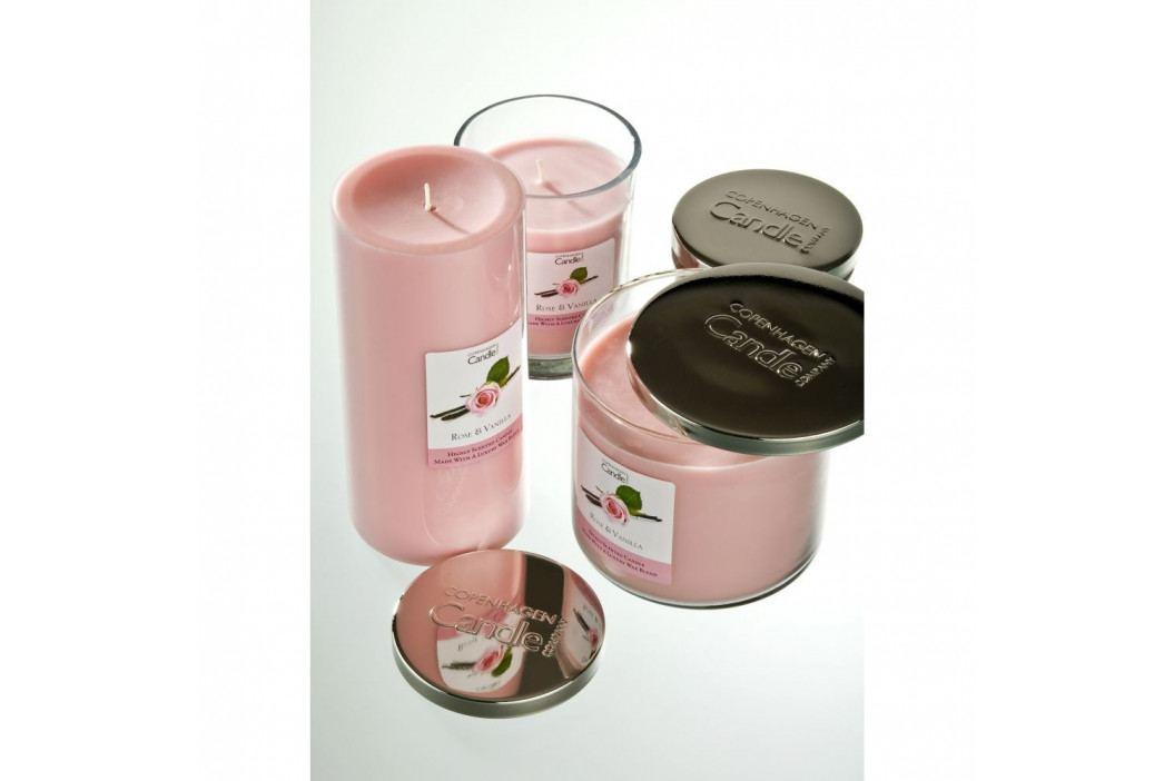Aromatická sviečka s vôňou ruže a vanilky Copenhagen Candles, doba horenia 40 hodín