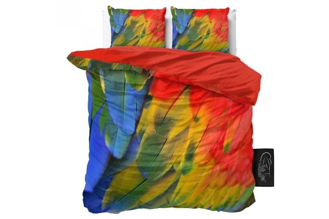 Obliečky z mikroperkálu Sleeptime Parrot, 240 x 220 cm