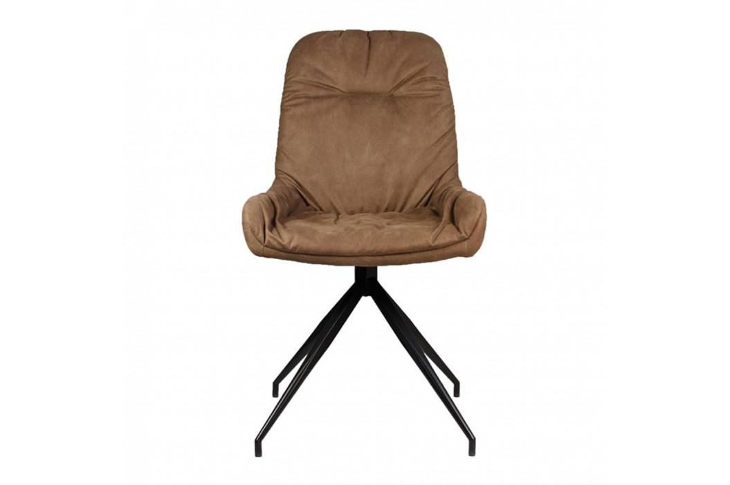 Hnedá jedálenská stolička LABEL51 Winner