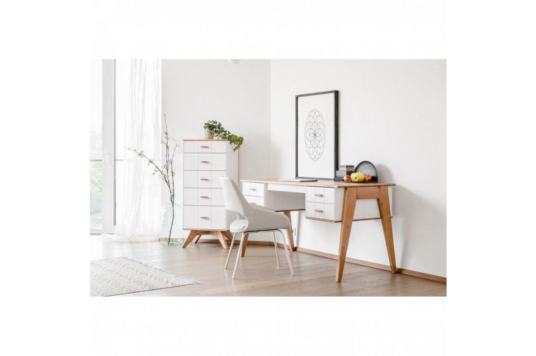 Písací stôl z borovicového dreva Askala Maru