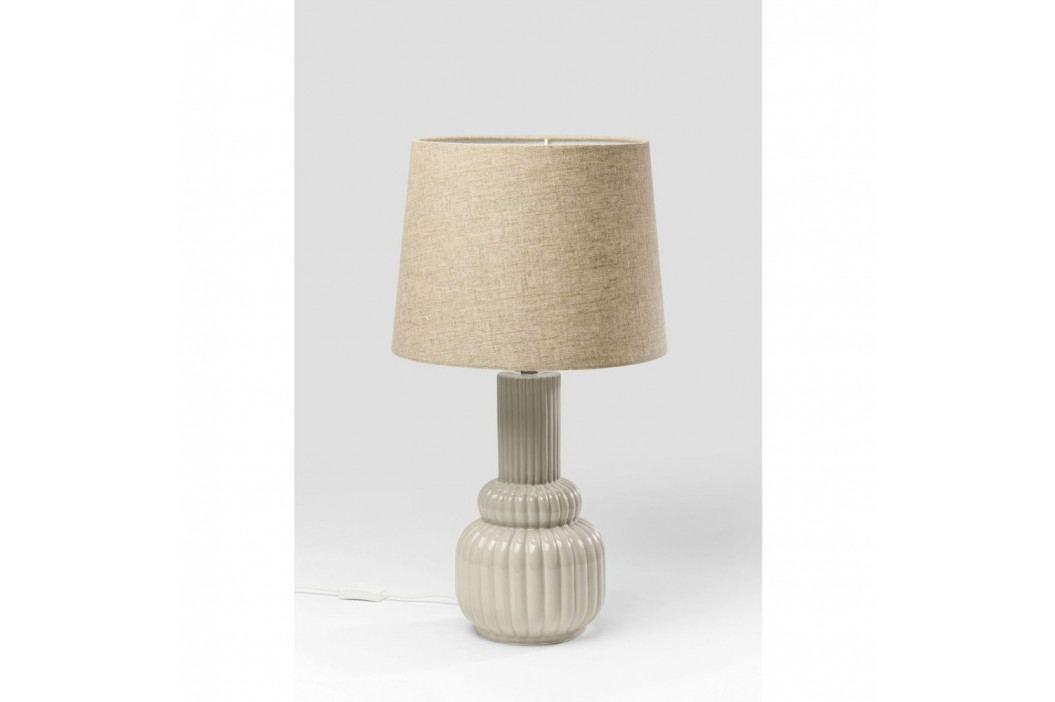 Sivá stolová lampa Kare Design Cosy