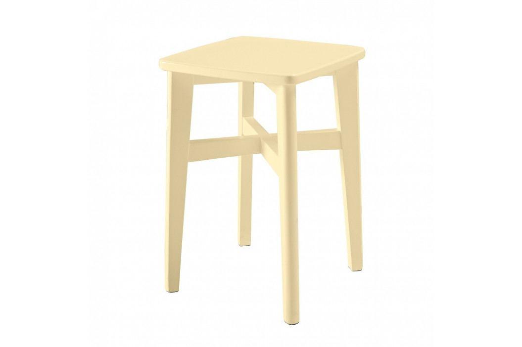 Žltá drevená stolička RGE Sigrid Pall