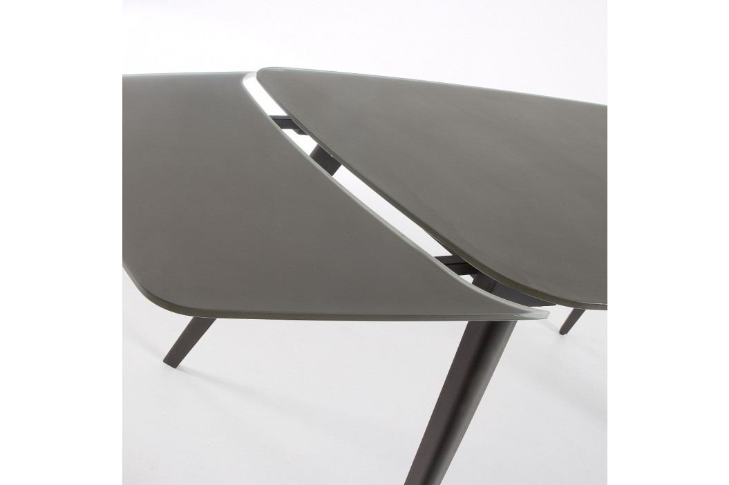 Rozkladací jedálenský stôl La Forma Snugg, dĺžka 120-180cm