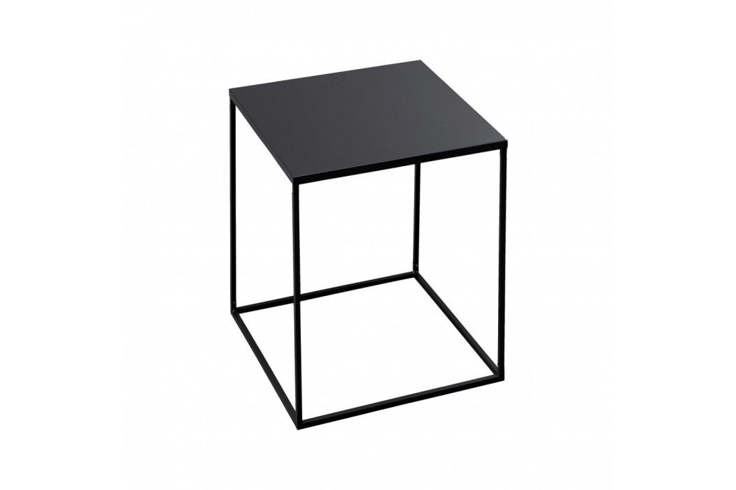 Čierny odkladací stolík Design Twist Fargo