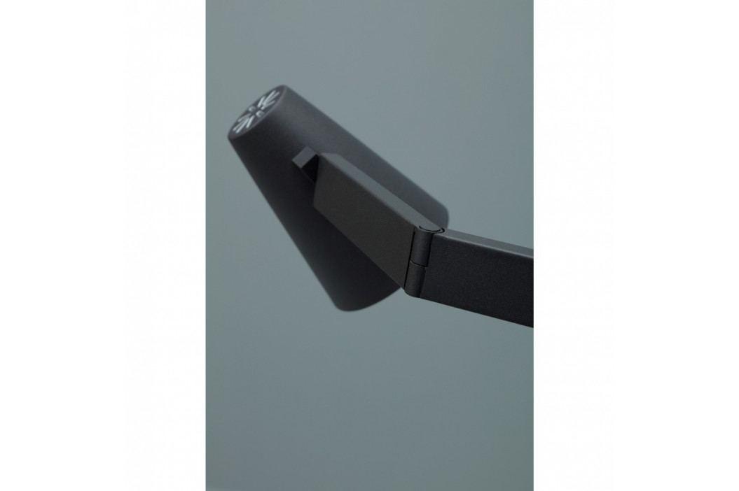 Čierna stolová lampa Design Twist Fahy