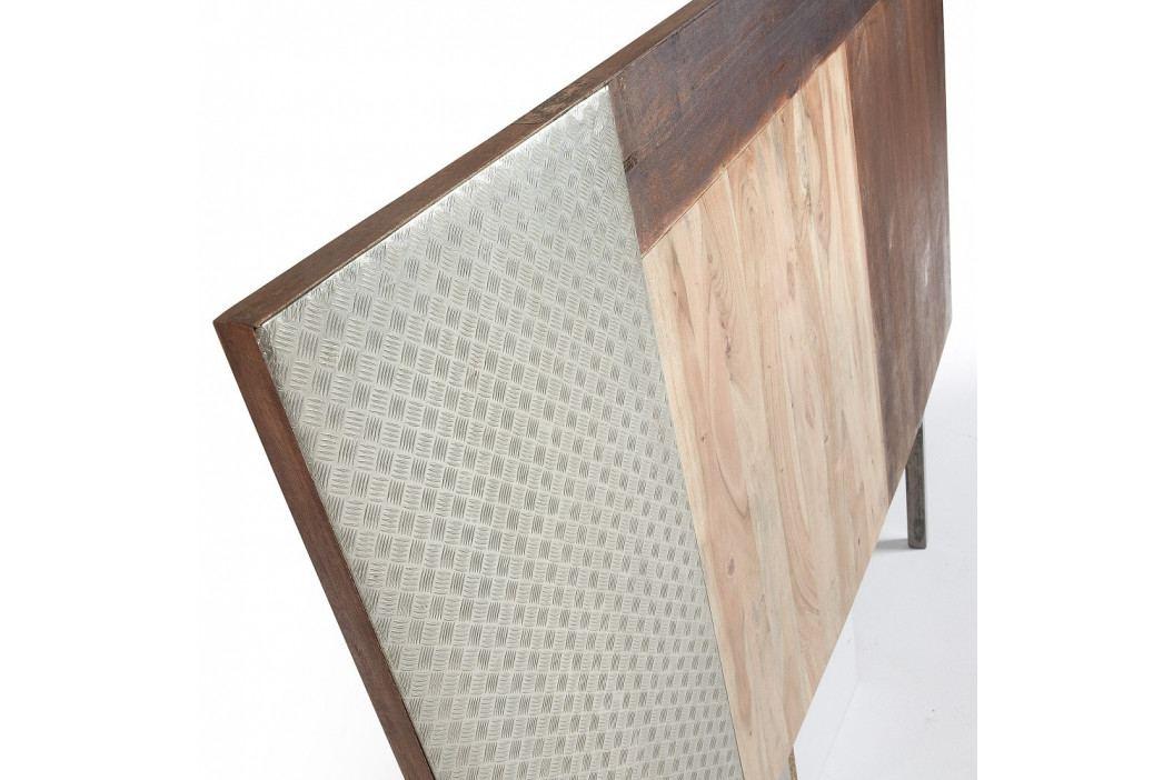 Čelo postele z mangového dreva La Forma Loft, 165×120cm