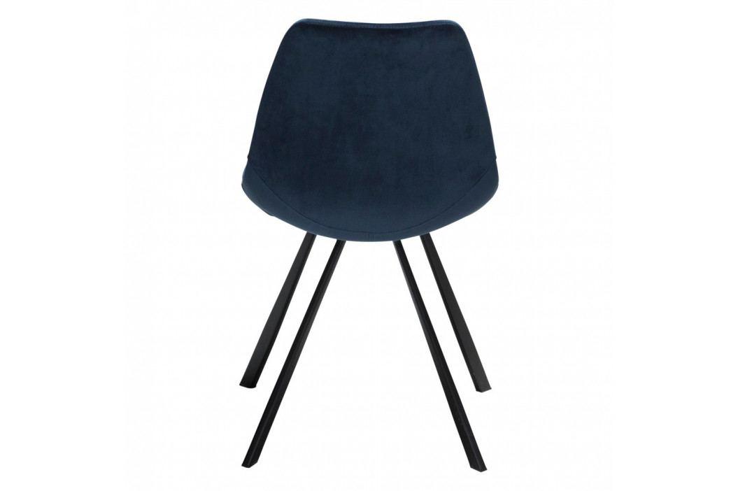 Tmavomodrá jedálenská stolička DAN-FORM Denmark Pitch