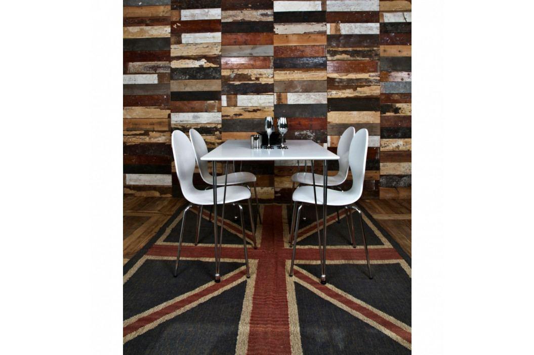 Sada 4 bielych jedálenských stoličiek Actona Marcus Dining Chair
