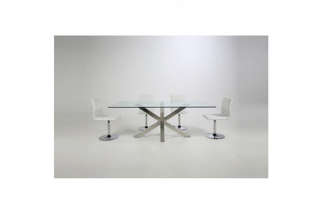 Sada 2 bielych jedálenských stoličiek Actona Piper Dining Set