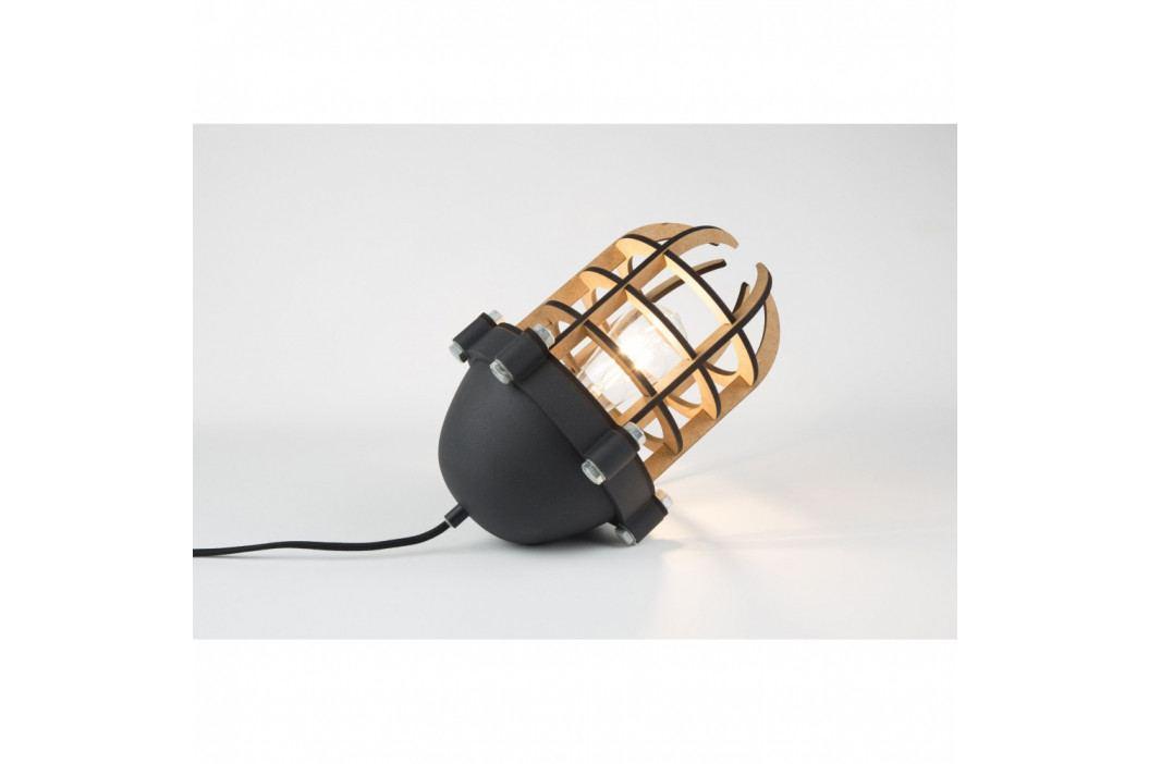 Čierna stolová lampa Zuiver Navigator