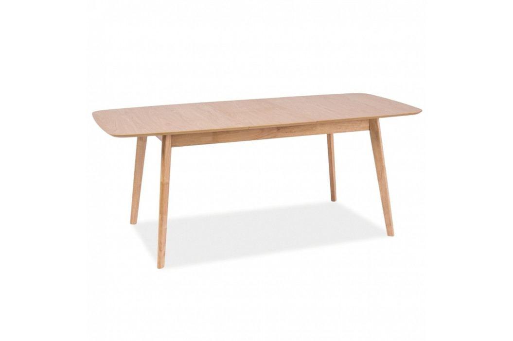 Rozkladací jedálenský stôl Signal Felicio, dĺžka 120 - 150cm