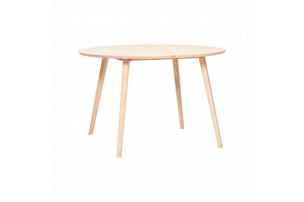 Jedálenský stôl z dubového dreva Hübsch Eluf, ⌀ 115cm