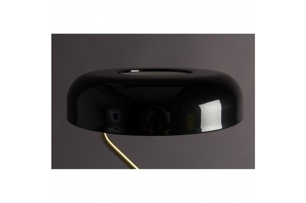 Čierna stojacia lampa Dutchbone Eclipse