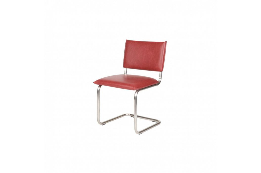 Sada 2 ružových stoličiek De Eekhoorn Vintage