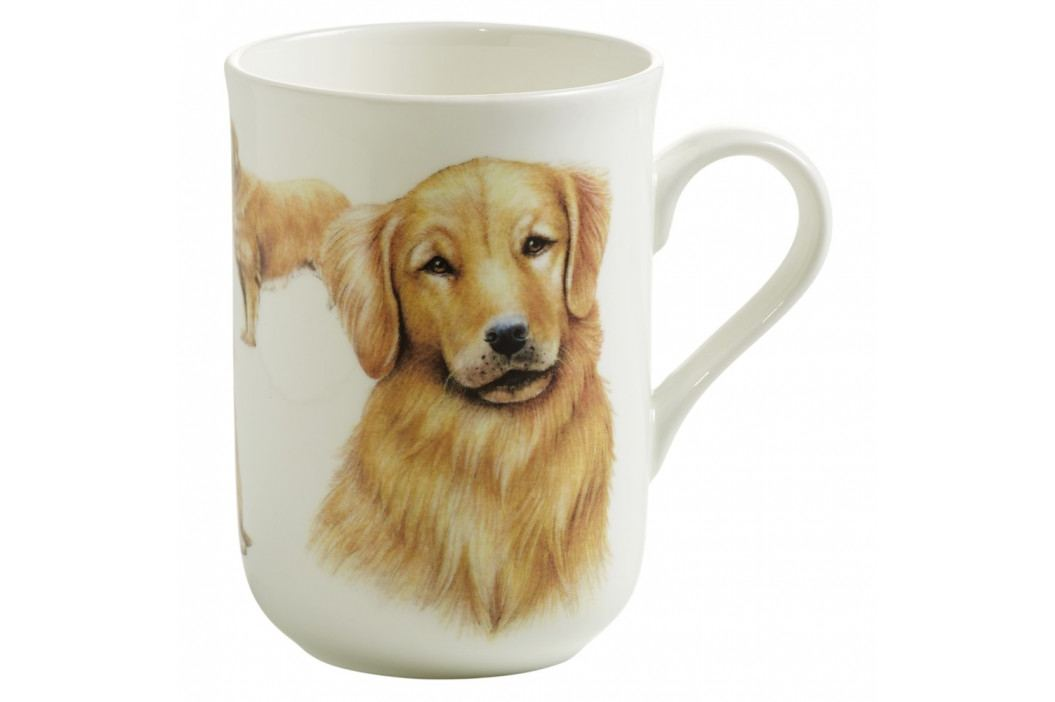 Hrnček z kostného porcelánu Maxwell & Williams Pets Golden Retriever, 350 ml