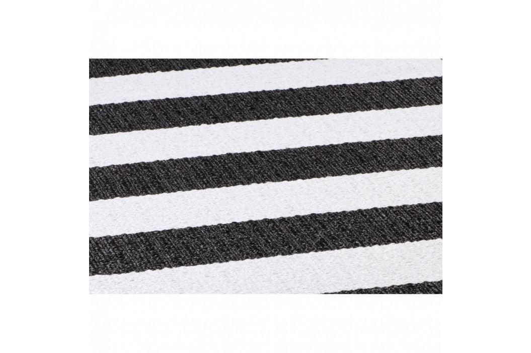 Čierno-biely behúň vhodný do exteriéru Narma Birkas, 70 × 300 cm