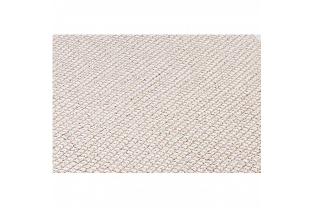 Krémový behúň vhodný do exteriéru Narma Diby, 70 × 300 cm