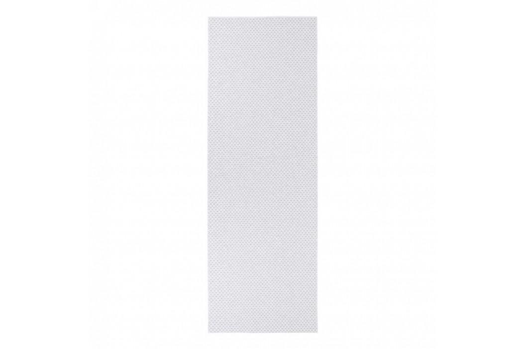 Svetlosivý behúň vhodný do exteriéru Narma Diby, 70 × 300 cm