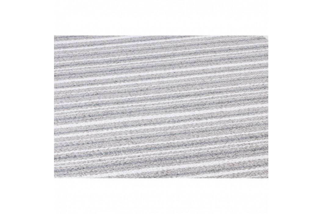 Sivo-biely behúň vhodný do exteriéru Narma Hullo, 70 × 250 cm
