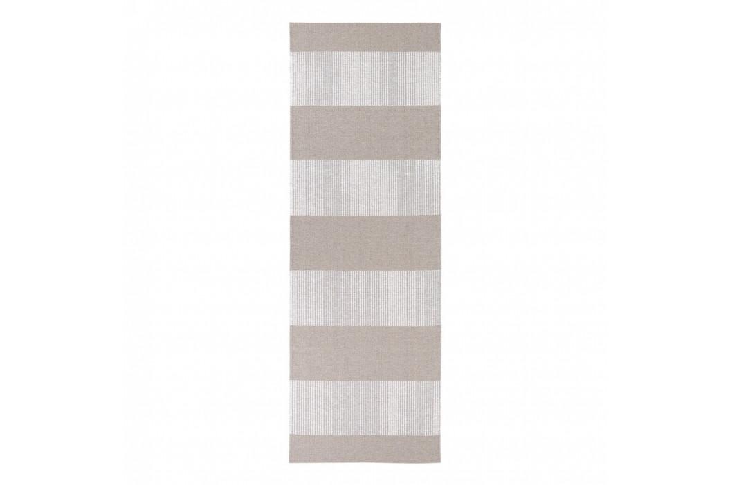 Hnedý behúň vhodný do exteriéru Narma Norrby, 70 × 350 cm