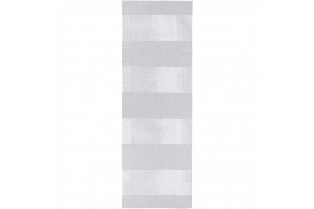 Sivý behúň vhodný do exteriéru Narma Norrby, 70 × 150 cm