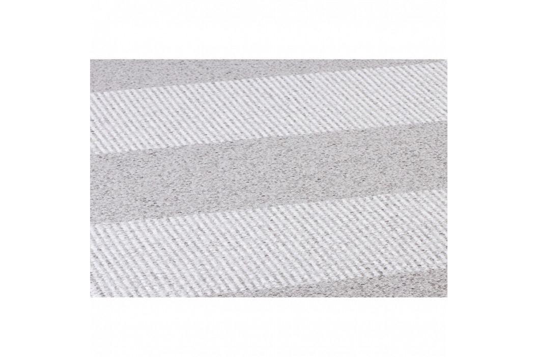 Sivý behúň vhodný do exteriéru Narma Norrby, 70 × 250 cm