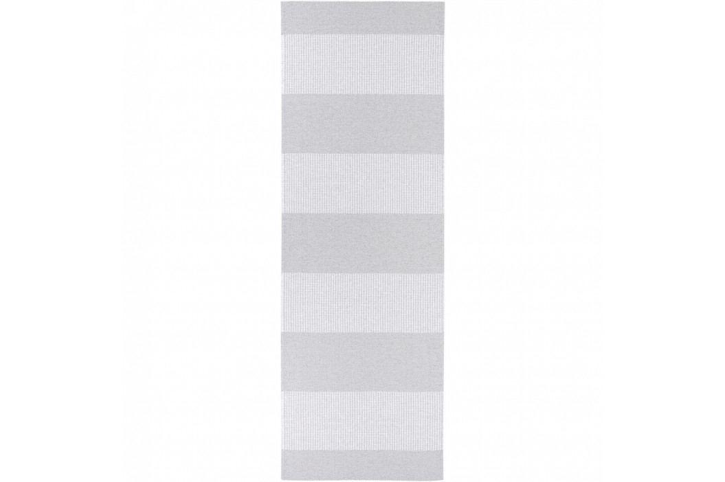 Sivý behúň vhodný do exteriéru Narma Norrby, 70 × 350 cm