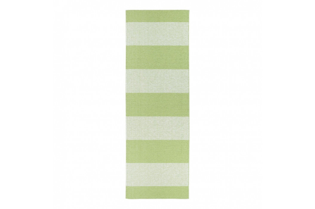 Zelený behúň vhodný do exteriéru Narma Norrby, 70 × 200 cm