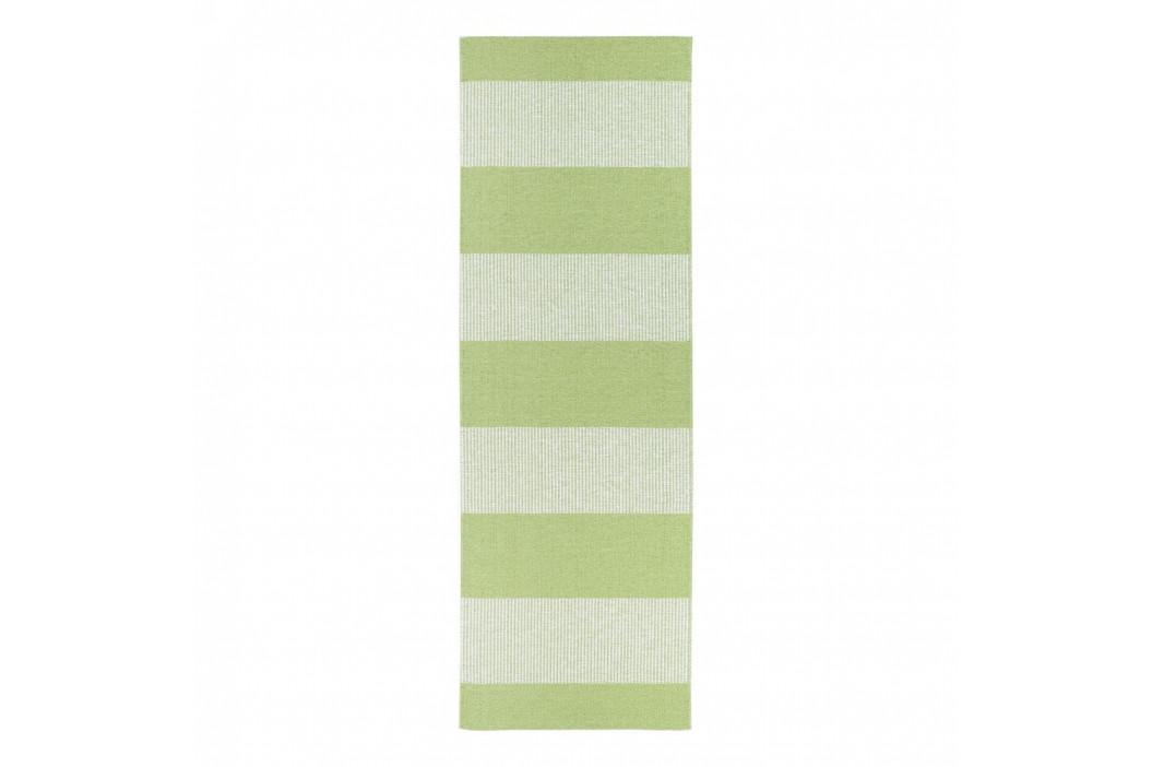 Zelený behúň vhodný do exteriéru Narma Norrby, 70 × 300 cm
