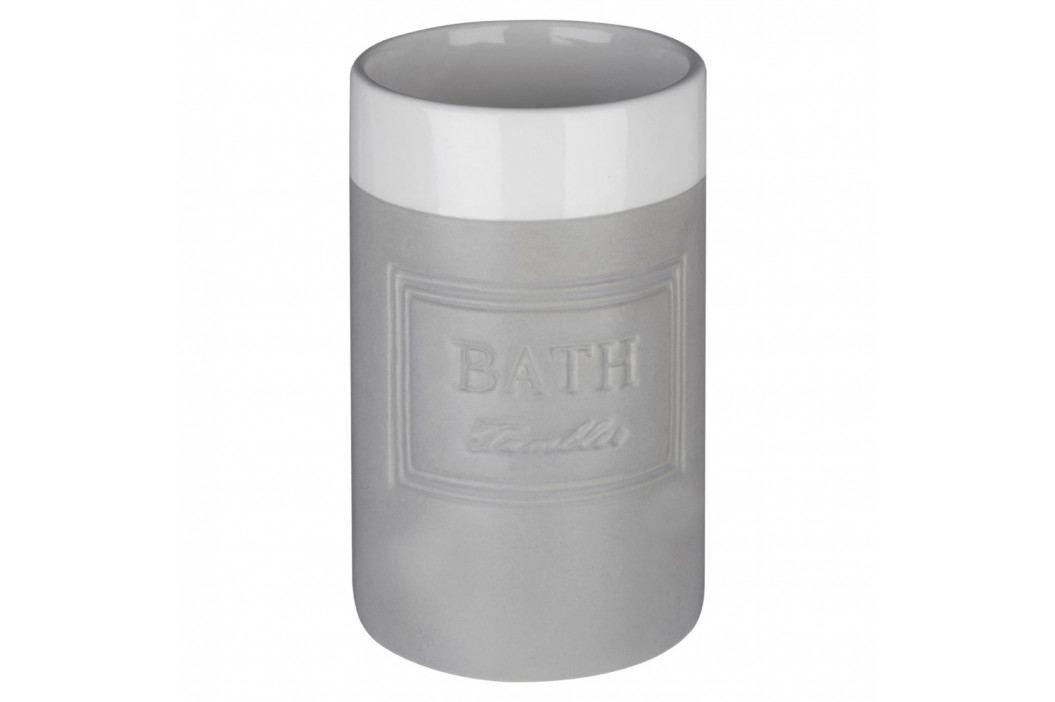 Bielo-sivý pohárik Premier Housewares Vida, 300 ml