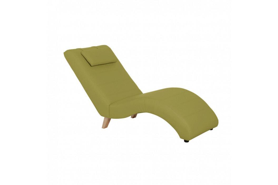 Zelená leňoška Max Winzer Norris Leather Green