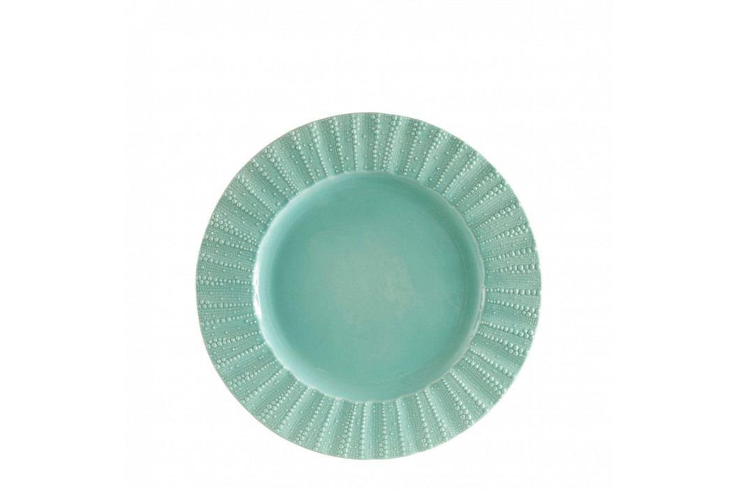 Zelený kameninový dezertný tanier Côté Table Posei, ⌀24cm