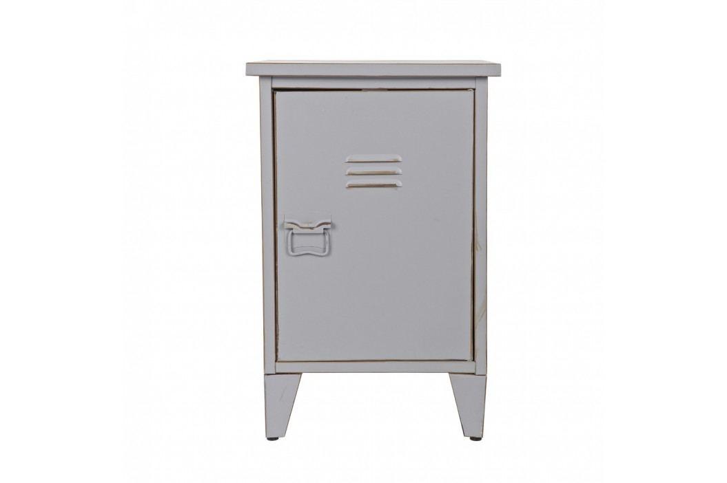 Sivý nočný stolík s otváraním na pravej strane De Eekhoorn Max
