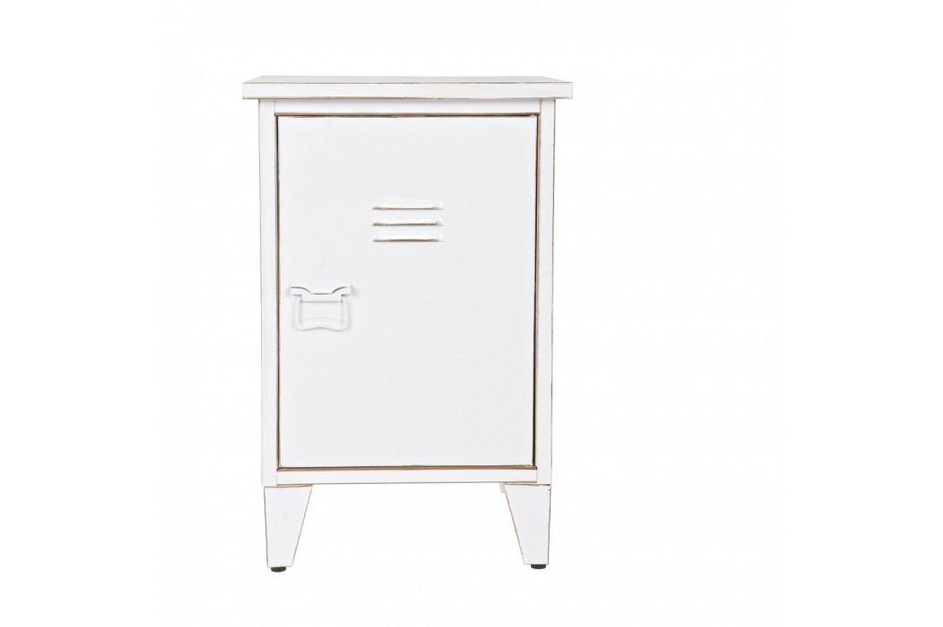 Biely nočný stolík s otváraním na pravej strane De Eekhoorn Max