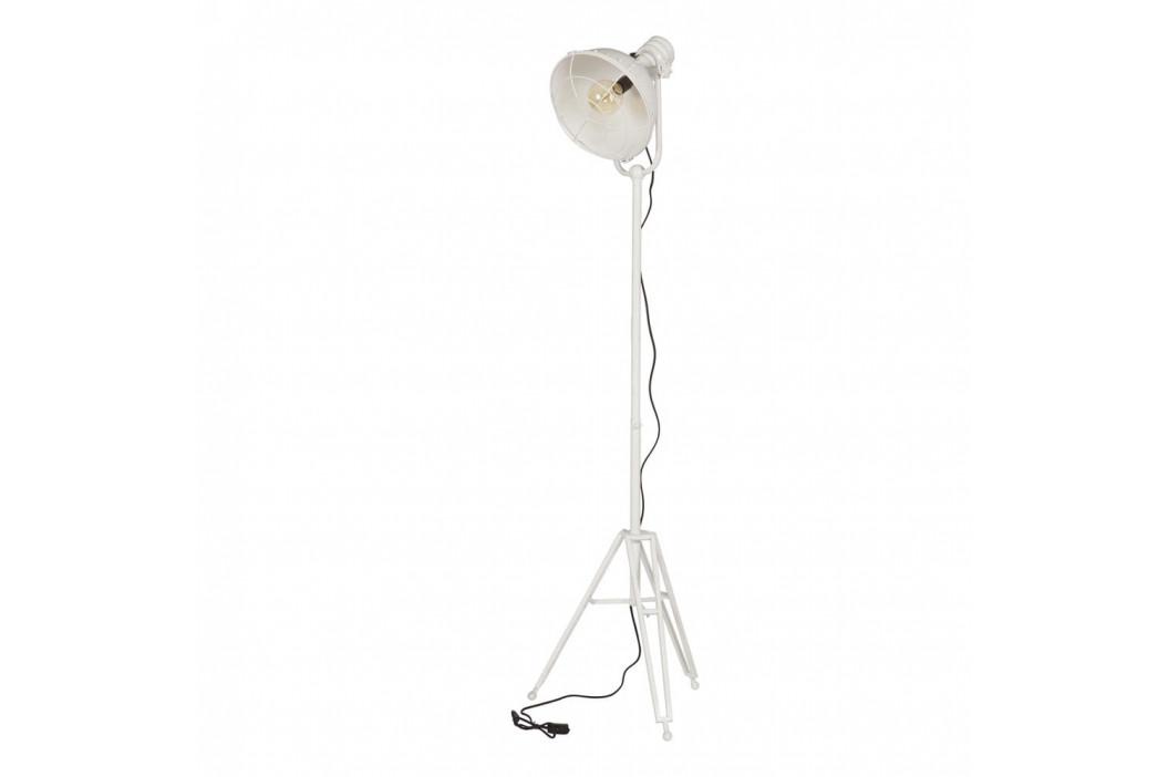 Biela stojacia lampa De Eekhoorn Spotlight