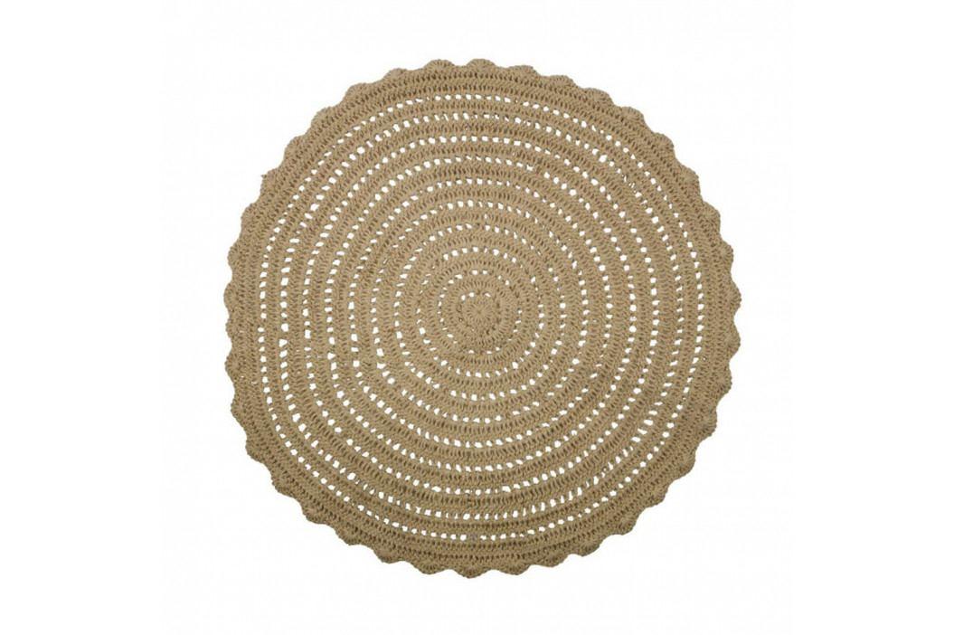 Okrúhly jutový koberec De Eekhoorn Corn, ⌀150cm