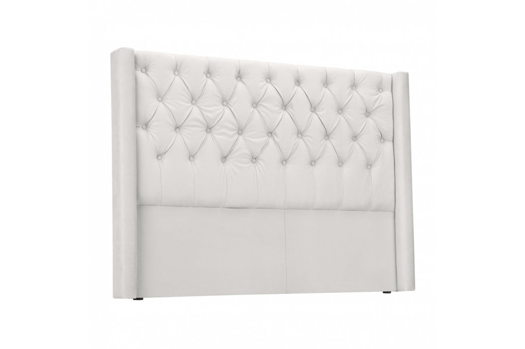 Biele čelo postele Windsor & Co Sofas Queen, 196×120 cm
