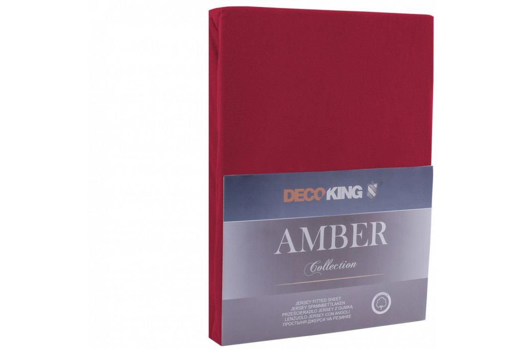Červená plachta DecoKing Amber Collection, 140-160×200cm