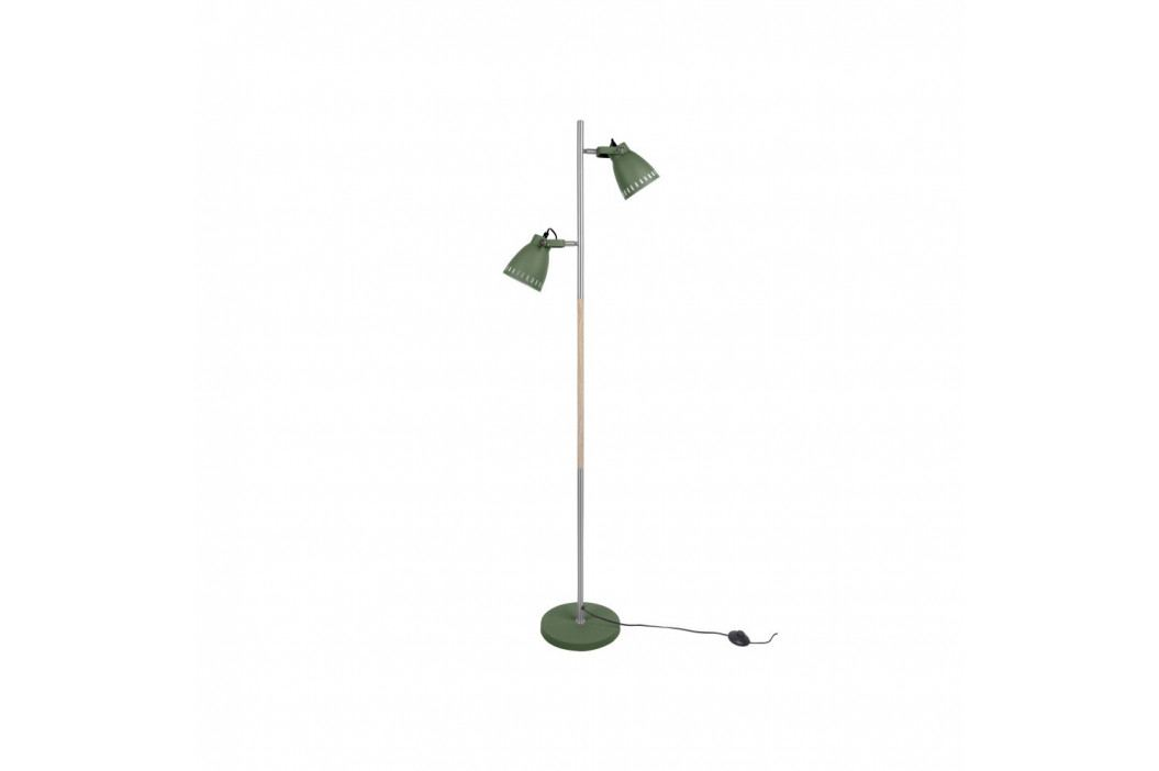 Zelená voľne stojacia lampa Leitmotiv Mingle