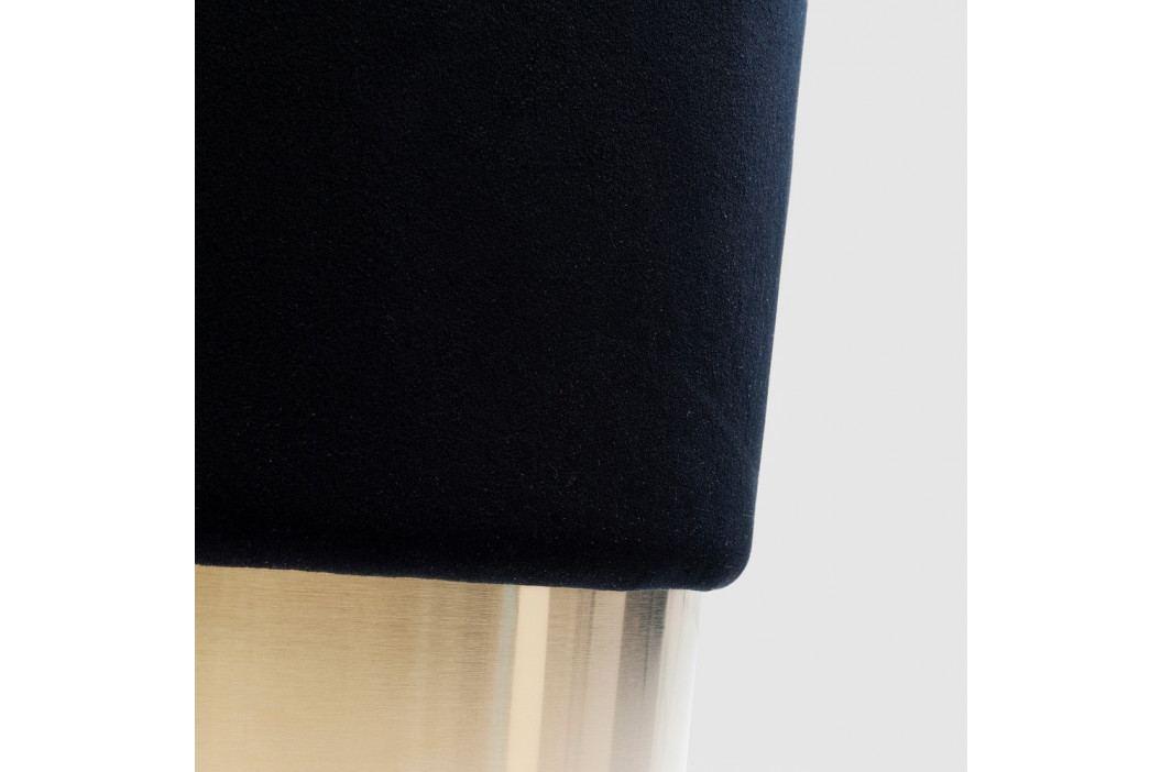Čierna stolička Kare Design Cherry, ∅ 35 cm