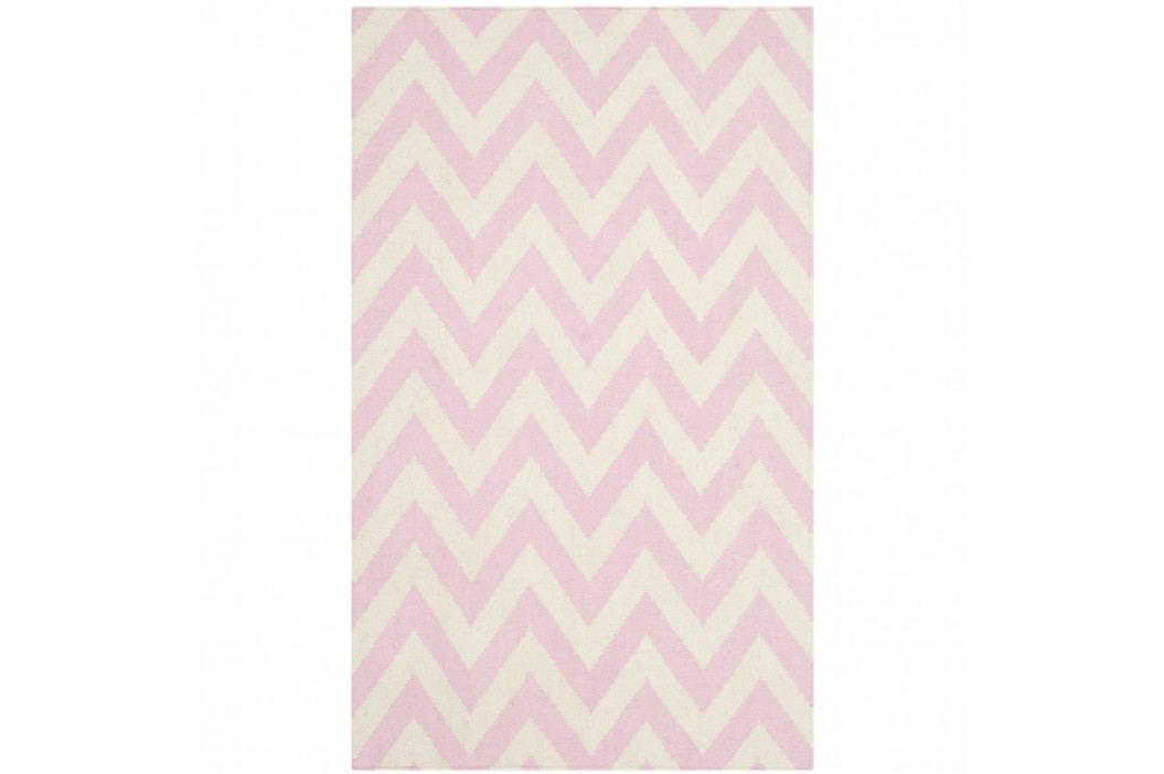 Vlnený ručne tkaný koberec Safavieh Nelli, 91x152cm