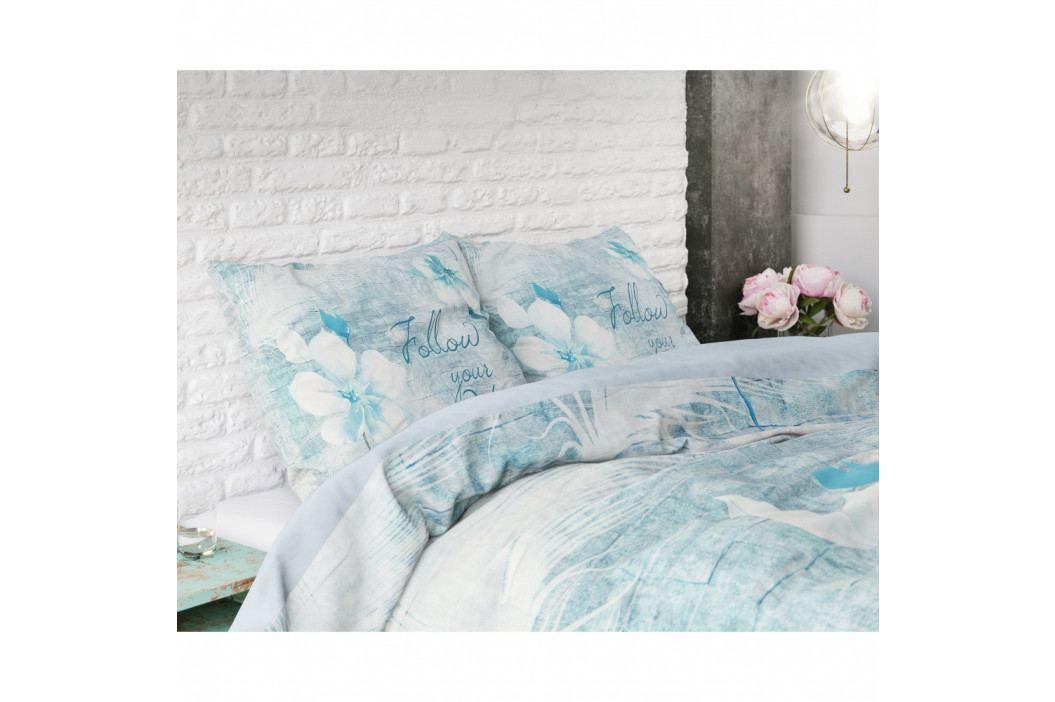 Bavlnené obliečky na jednolôžko Sleeptime Flowerina, 140×220 cm