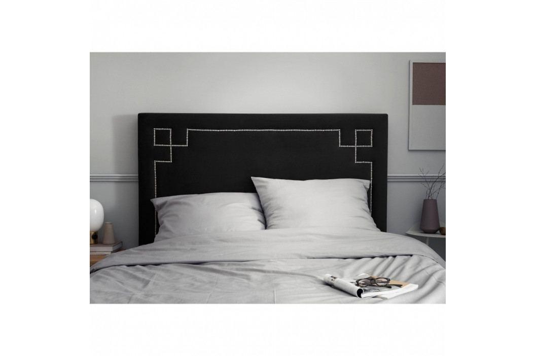 Čierne čelo posteleThe Classic Living Nicolas, 200 x 120 cm