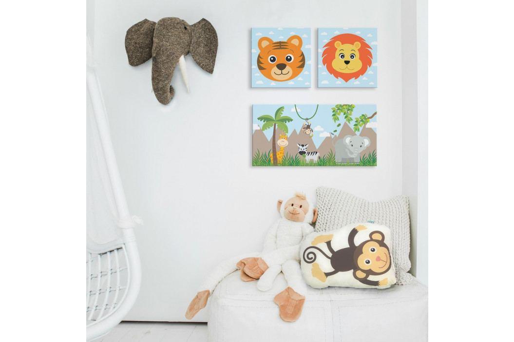 Obraz Little W Jungle B, 27×27cm