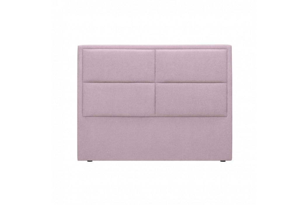 Ružové čelo postele HARPER MAISON Gala, 160×120 cm